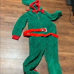 Adult elf onesie